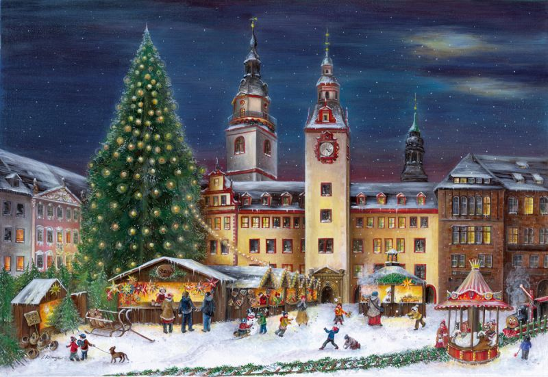 Alte Weihnachtskalender.Bruck And Sohn Advent Calendars