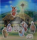 Magnetic Nativity Book